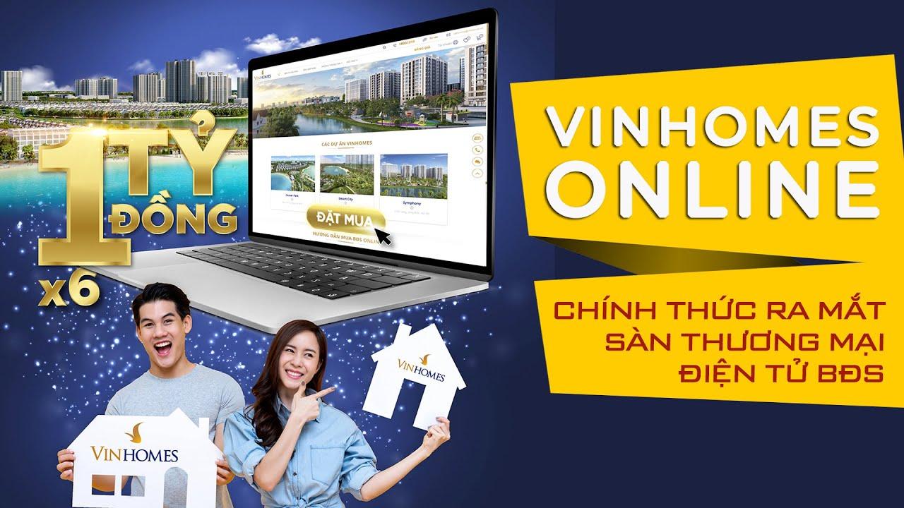Vinhomes TV | Chính thức ra mắt Sàn Thương mại điện tử Bất động sản Vinhomes Online.