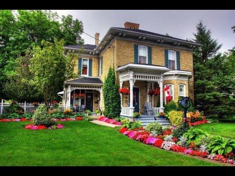 Палисадник  Цветник  перед домом