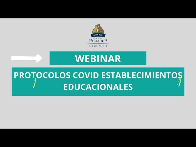 No te pierdas en webinar sobre los protocolos Back to School, con Paulina Lobos.