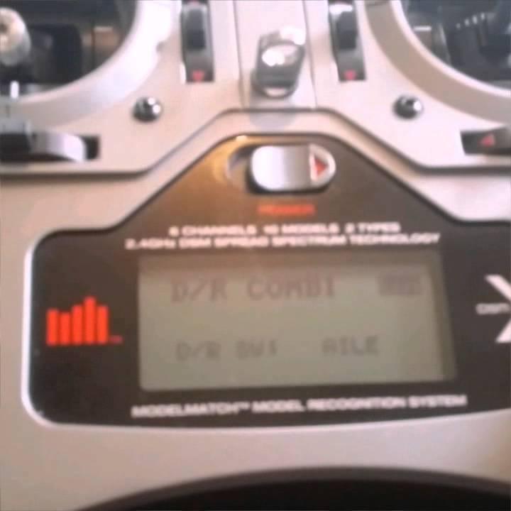 Die DX6i und die 2 3-Wege Schalter. - YouTube