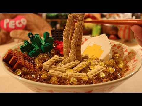 Lego Ramen [ Lego In Real Life · Stop Motion Cooking ] ASMR