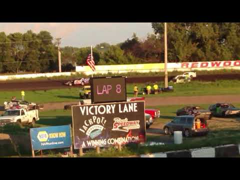 Redwood Speedway Sport Mod makeup feature 8/27/17