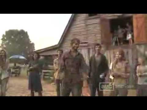Inside The Walking Dead Making Of The Barn Scene