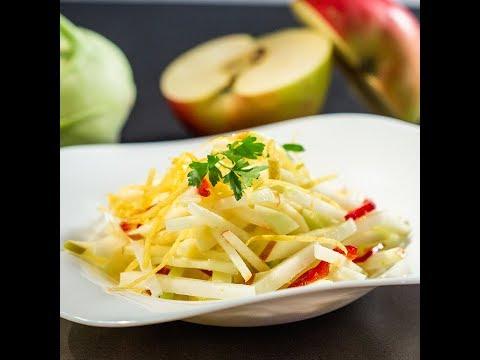 Salată cu măr și gulie