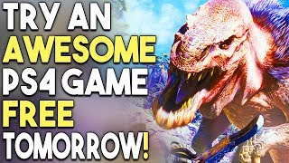 Try an Awesome PS4 Game Free Tomorrow! - Over 10 Hours of Content!