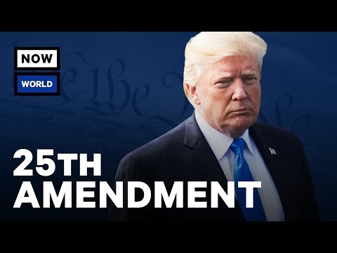 Can The 25th Amendment Really Remove Donald Trump?   NowThis World