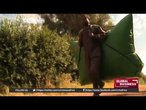 26977 Bibliothek energy CCTV Afrique Portable power with Ethiopia's biogas bags