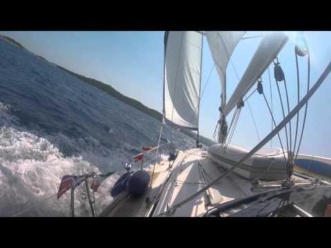 GoPro Hero4 Session While Sailing: Sample Shots