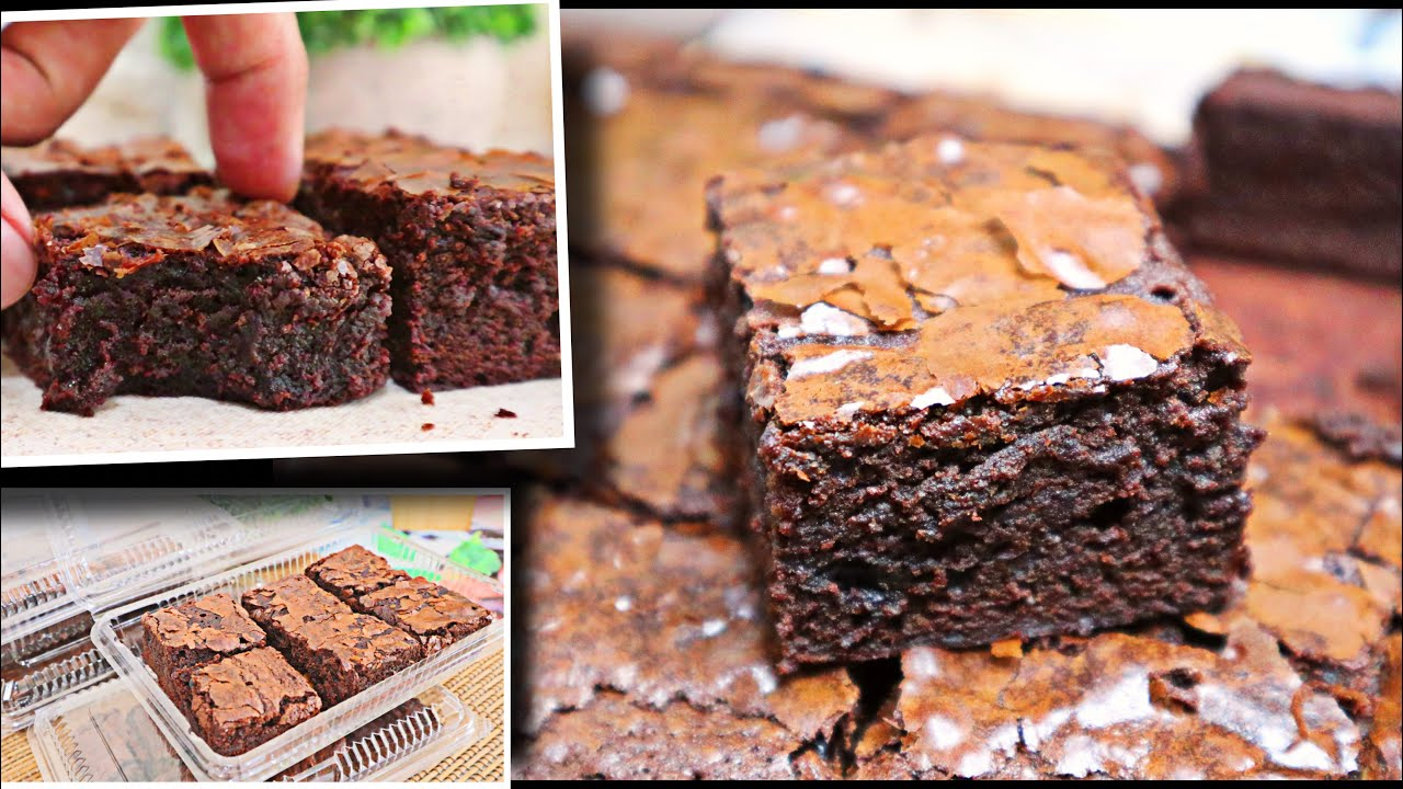 TRENDING!! The Best Fudgy Brownie Recipe You'll Ever Eat! | Simple & Easy | FOOD BUSINESS IDEA