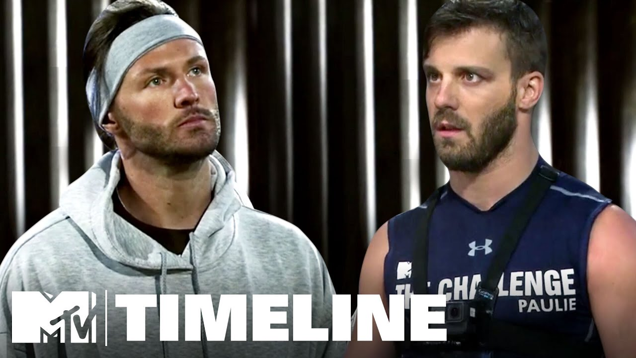 Biggest Challenge Beefs: Paulie vs. Kyle | The Challenge