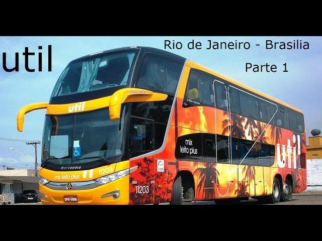 UTIL Rio de Janeiro - Brasilia Parte 2 (mapa do juvenal)