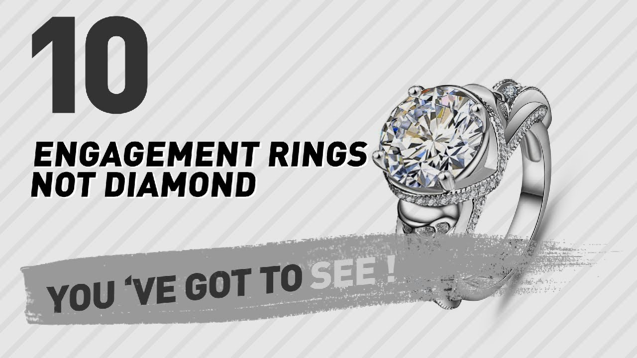 Engagement Rings Not Diamond Top 10 Collection Uk New Popular