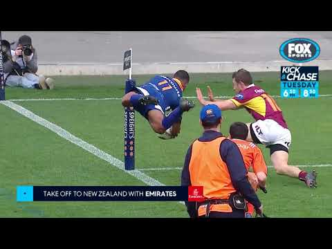Rugby Kick and Chase : Plays of the Week