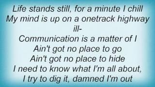 H-blockx - Life Is Feeling Dizzy Lyrics