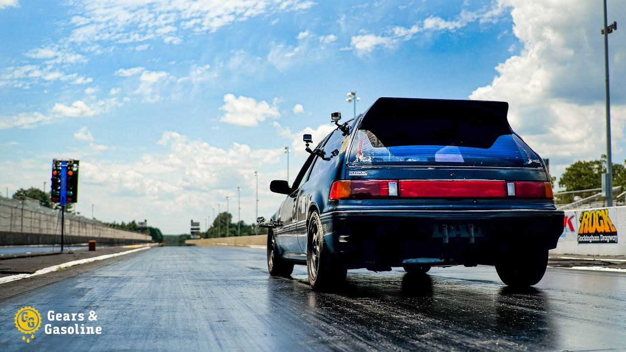 1/4 Mile Civic Goes RACING - JDM vs EURO SHOWDOWN