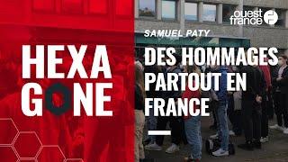 Partout en France, écoliers, collégiens et lycéens rendent hommage à Samuel Paty