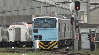 (再編集)重機により残りの251系RE-4編成の解体が始まり、651系「IZU CRAILE」が工場建屋へ移動していた、長野総合車両センター。