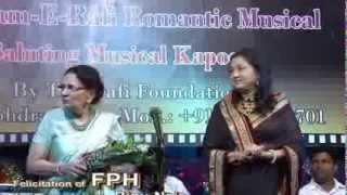 Rafi Foundation's Romantic Rafi IV.  Felicitation Of The FPH