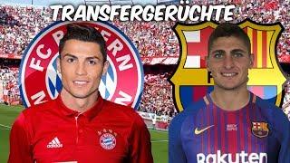 Ronaldo zu den Bayern ? | Verratti zu Barcelona ? | Transfers und Transfergerüchte 2017