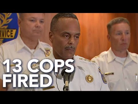 Frankie Darcell - 13 Philly Cops Fired After Controversial Facebook Posts Exposed