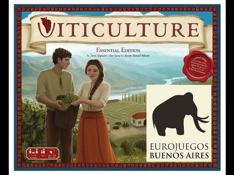 Viticulture - Ficus Gameplay