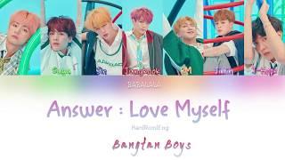 Bts  방탄소년단  - Answer : Love Myself  Color Coded Lyrics Han/rom/eng