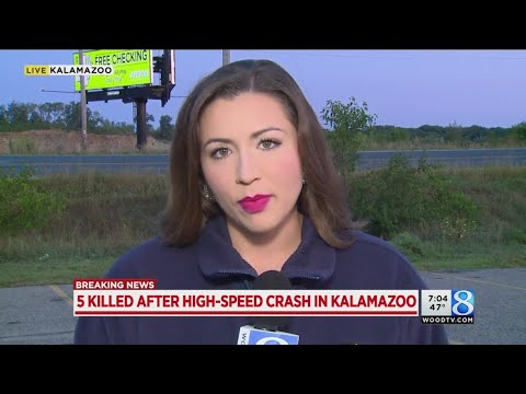 Fiery Crash Kills Five in Kalamazoo