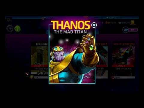 Thanos The Mad Titan Character Analysis - Marvel Puzzle Quest