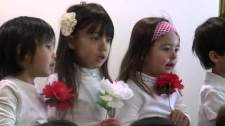 2014年1月5日 Bilingual Kidsの録音にて.