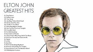 Elton John Greatest Hits 🌺 Best songs of Elton John  full album