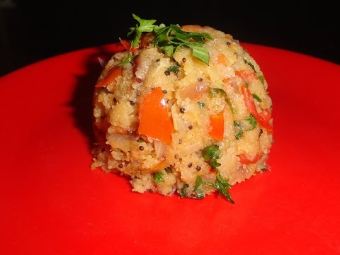Vegetable upma by dezire soniya cooking classes.[in hindi]