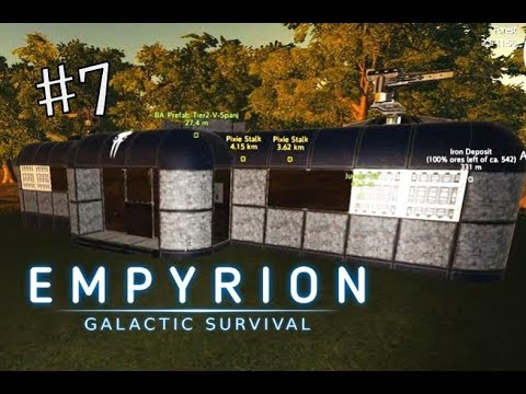 THE NEW BASE | Empyrion Galactic Survival | Alpha 8 new Play-through | #7