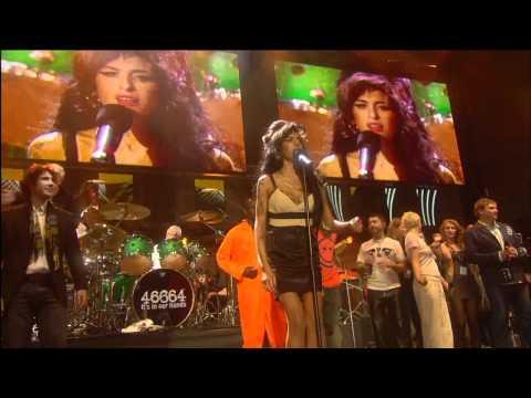 Amy Winehouse  Nelson Mandela  concert   complet  HD