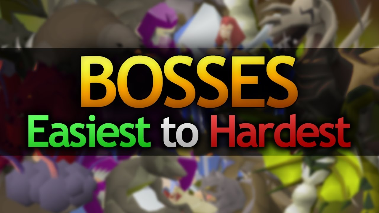 Bosses (Ranked from Easiest to Hardest)