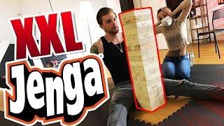XXL JENGA! - ANDRE vs. REGINA! (NINTENDO SWITCH VERLOSUNG!)