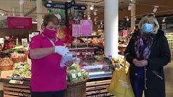Maskenpflicht in Supermärkten: VOL.AT-Lokalaugenschein