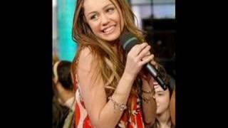 Miley Cyrus Breakout Full Song (good audio complete lyrics)