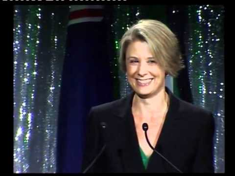 Kristina Keneally at Lansdowne Club St Patricks Lunch 2011