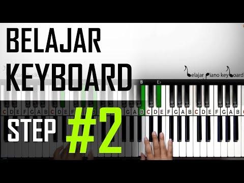 Belajar Keyboard #2 - Belajar Chord C-Am-Dm-G, Perpindahan Chord dan Sinkronisasi kedua tangan