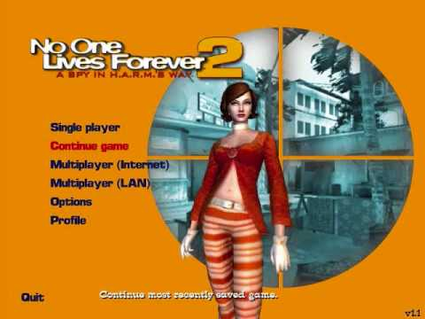 No One Lives Forever 2 Main Menu soundtrack