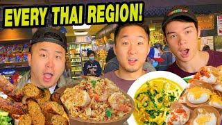 NORTHERN THAI vs CENTRAL THAI vs SOUTHERN THAI (Epic Thai Town Tour)!