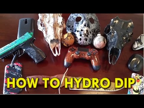 How To Hydro Dip Instructions - My Dip Kit Store