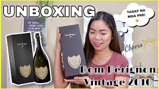 UNBOXING DOM PÉRIGNON VINTAGE 2010 CHAMPAGNE FOR 2021 INAUGURATION DAY   Jean Hartmann