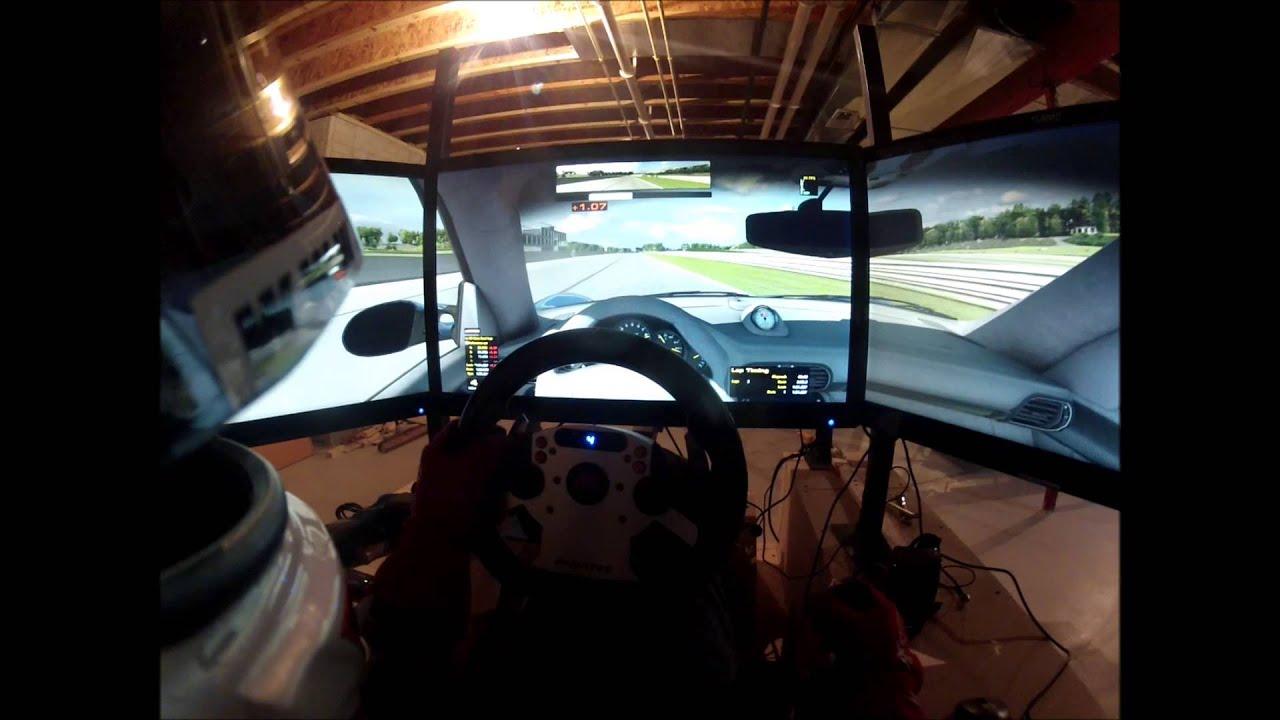 Barber Motorsports Park >> GoPro - iRacing Triple Screen Setup - Porsche GT3RS at ...
