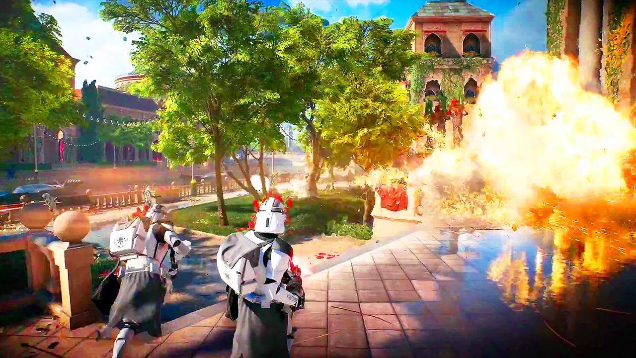 STAR WARS BATTLEFRONT 2 Gameplay Trailer E3 2017