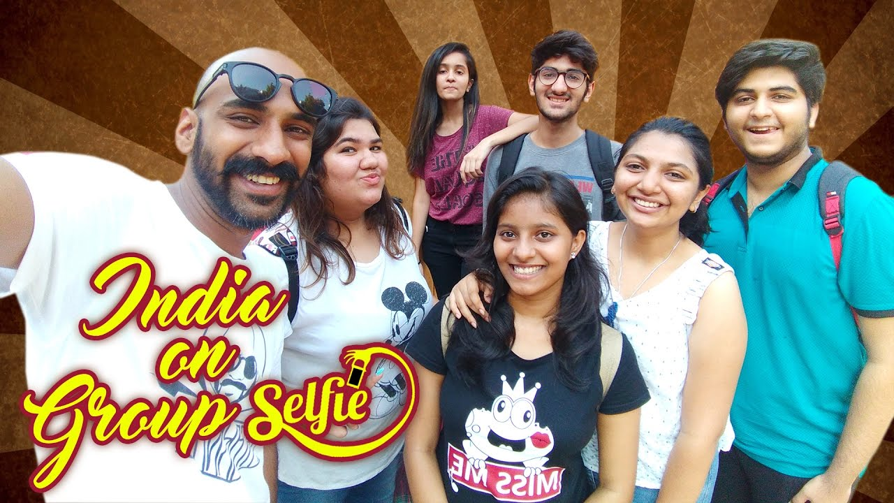 India on Group Selfie | Being Indian
