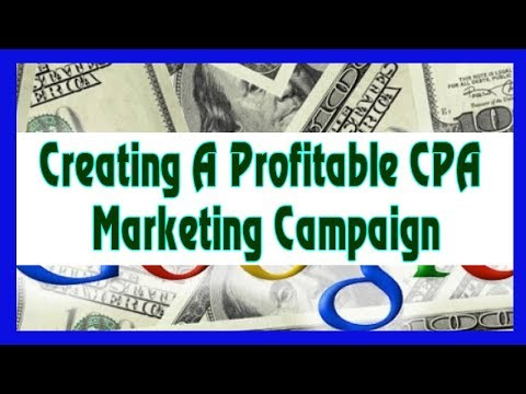 Earn Money Online For Free 2018 - Creating A Profitable CPA
