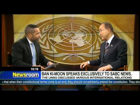 FULL INTERVIEW: SABC speaks to outgoing U.N. Secretary General Ban Ki-Moon