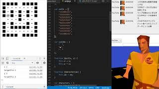 JavaScriptでパックマンを作ってみる #1【プログラミング実況】