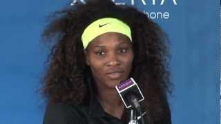 NBC Sports Tennis Report - Serena Williams & Harry Cicma